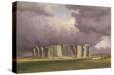 Stonehenge: Stormy Day, 1846-J^ M^ W^ Turner-Stretched Canvas Print