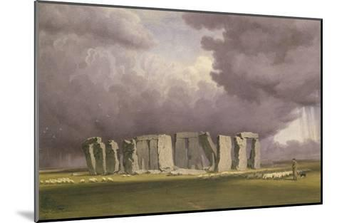 Stonehenge: Stormy Day, 1846-J^ M^ W^ Turner-Mounted Giclee Print