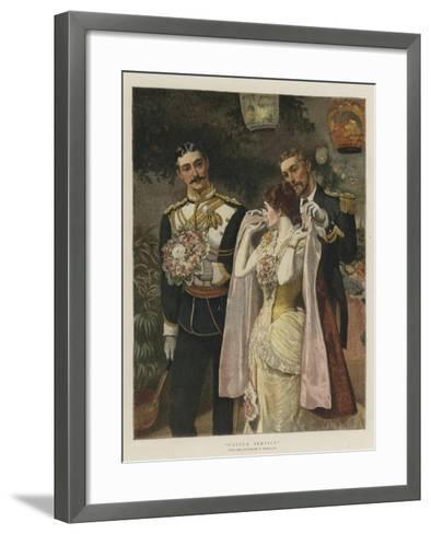 United Service-William Small-Framed Art Print