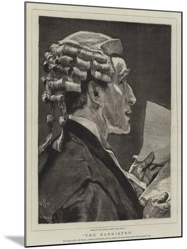 The Barrister-William Small-Mounted Giclee Print