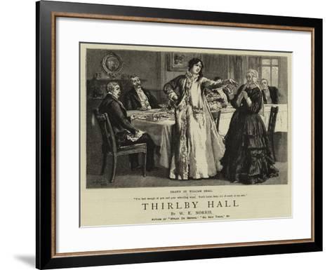 Thirlby Hall-William Small-Framed Art Print