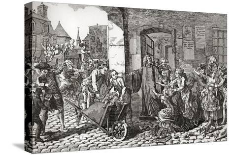Activities of the Society for the Reformation of Manners Whose Aims Were the Suppression of Profani--Stretched Canvas Print