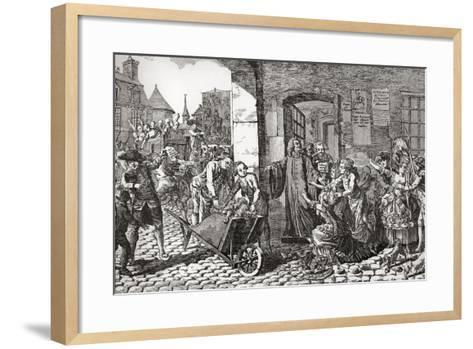 Activities of the Society for the Reformation of Manners Whose Aims Were the Suppression of Profani--Framed Art Print