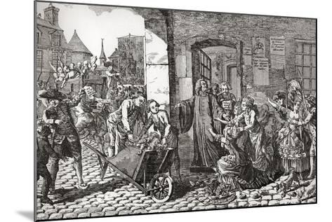 Activities of the Society for the Reformation of Manners Whose Aims Were the Suppression of Profani--Mounted Giclee Print