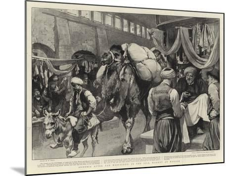 Armenia after the Massacres, in the Silk Market at Marash-William Small-Mounted Giclee Print