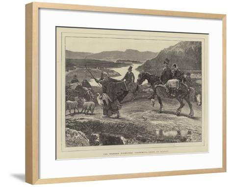 The Western Highlands, Connemara, Going to Market-William Small-Framed Art Print