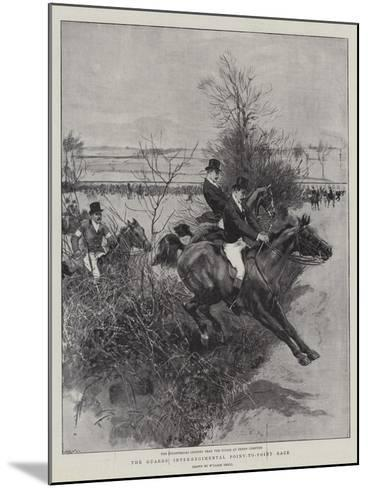 The Guards' Inter-Regimental Point-To-Point Race-William Small-Mounted Giclee Print