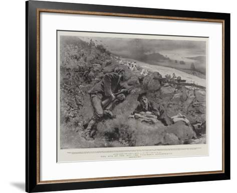 The Eve of the 12th, the Poacher's Opportunity-William Small-Framed Art Print