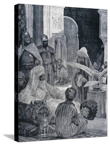 Abd-Er-Rahman III (889-961)--Stretched Canvas Print