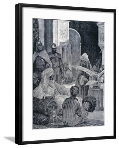 Abd-Er-Rahman III (889-961)--Framed Art Print