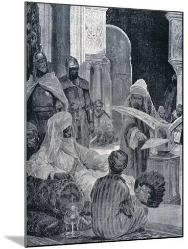 Abd-Er-Rahman III (889-961)--Mounted Giclee Print