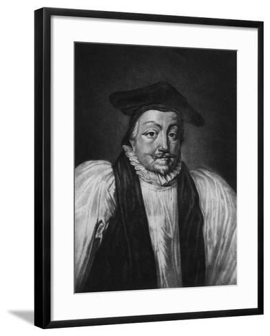 Archbishop William Laud (1573-1645) Illustration from 'Portraits of Characters Illustrious in Briti--Framed Art Print