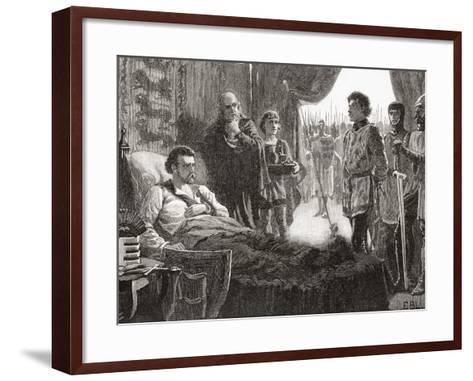 Bertrand De Gourdon Aka Pierre (Or Peter) Basile--Framed Art Print