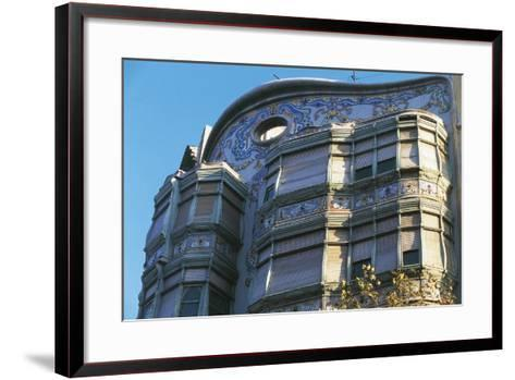 Architectural Details of Comalat House--Framed Art Print