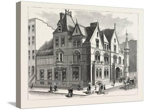 Architectural Progress of New York: Residence of Frederick W. Stevens--Stretched Canvas Print