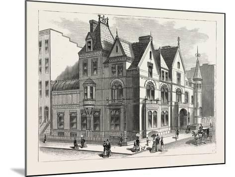 Architectural Progress of New York: Residence of Frederick W. Stevens--Mounted Giclee Print