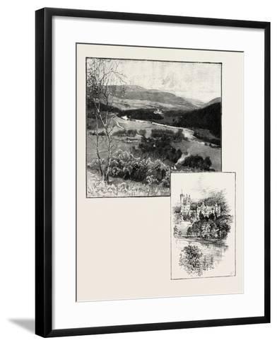Balmoral and Balmoral Castle--Framed Art Print