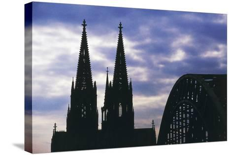 Bell Towers of Cologne Cathedral (Unesco World Heritage List--Stretched Canvas Print