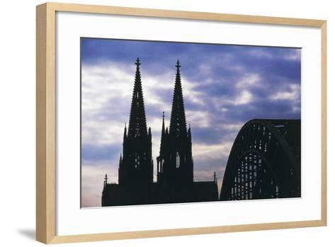 Bell Towers of Cologne Cathedral (Unesco World Heritage List--Framed Art Print