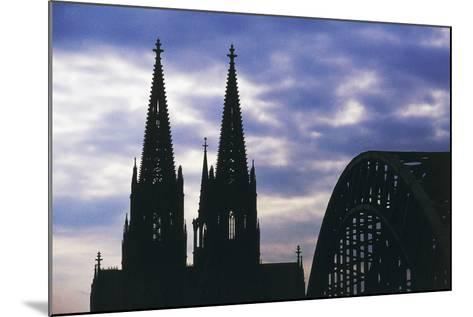 Bell Towers of Cologne Cathedral (Unesco World Heritage List--Mounted Giclee Print
