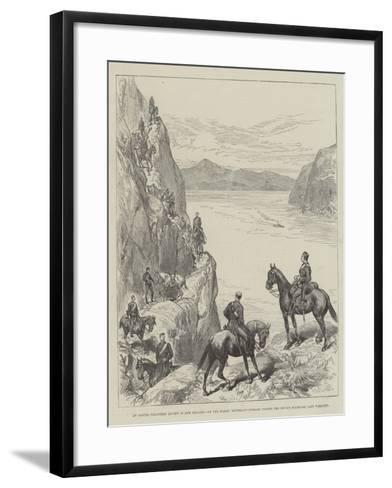 An Easter Volunteer Review in New Zealand--Framed Art Print