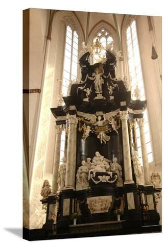 Baroque Style Altar in Jacobikirche (St James's Church--Stretched Canvas Print