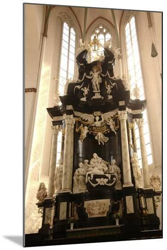 Baroque Style Altar in Jacobikirche (St James's Church--Mounted Photographic Print