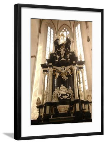Baroque Style Altar in Jacobikirche (St James's Church--Framed Art Print