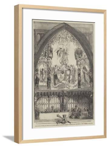 Allegorical Picture--Framed Art Print