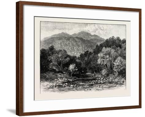 Ben Lomond: the Trossachs and Ben Venue--Framed Art Print