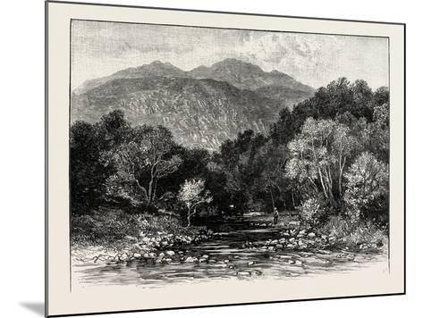 Ben Lomond: the Trossachs and Ben Venue--Mounted Giclee Print