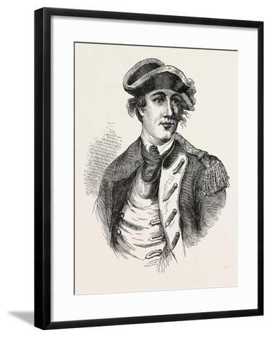 Benedict Arnold Was a General During the American Revolutionary War Who Originally Fought for the A--Framed Art Print