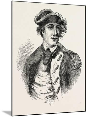 Benedict Arnold Was a General During the American Revolutionary War Who Originally Fought for the A--Mounted Giclee Print