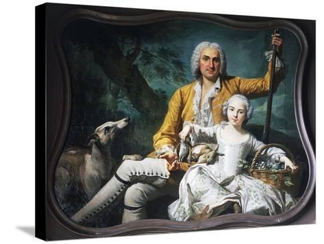 Autumn and Marquis Henri-Auguste--Stretched Canvas Print