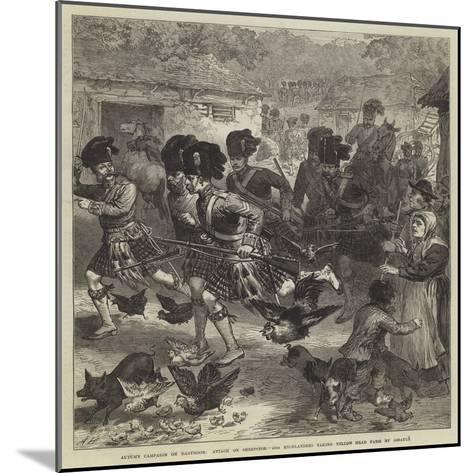 Autumn Campaign on Dartmoor--Mounted Giclee Print