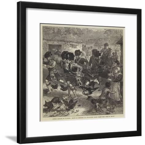 Autumn Campaign on Dartmoor--Framed Art Print