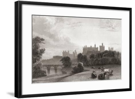 Alnwick Castle--Framed Art Print