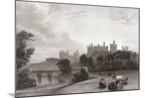 Alnwick Castle--Mounted Giclee Print