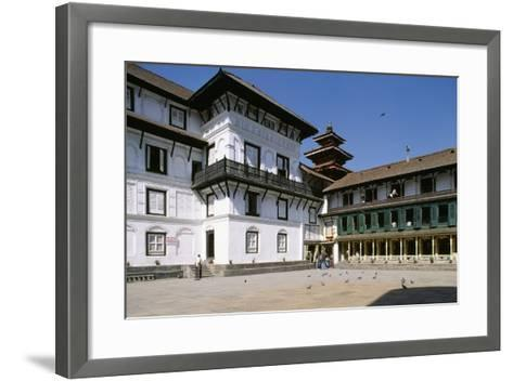 Ancient Royal Palace Bahadur Bhawan--Framed Art Print