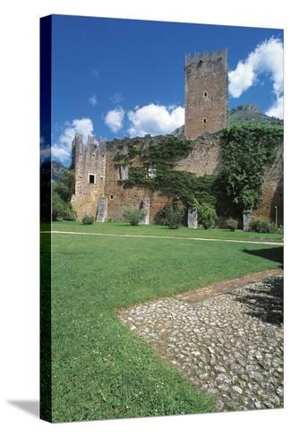 Caetani Castle--Stretched Canvas Print