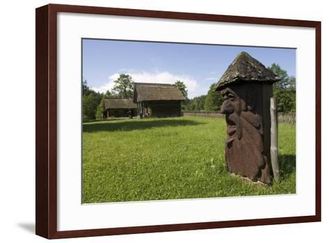 Carved Hives--Framed Art Print
