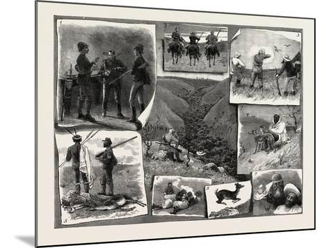 Buck Hunting at the Cape--Mounted Giclee Print