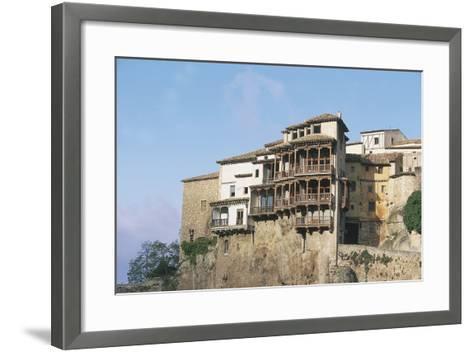 Casas Colgadas (Hanging Houses)--Framed Art Print