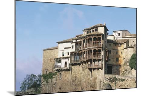 Casas Colgadas (Hanging Houses)--Mounted Photographic Print