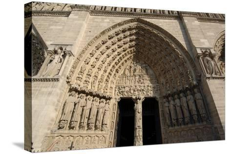 Central Doorway--Stretched Canvas Print