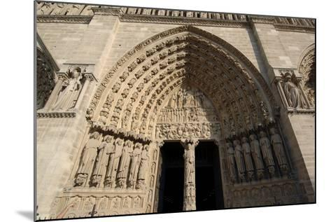 Central Doorway--Mounted Photographic Print