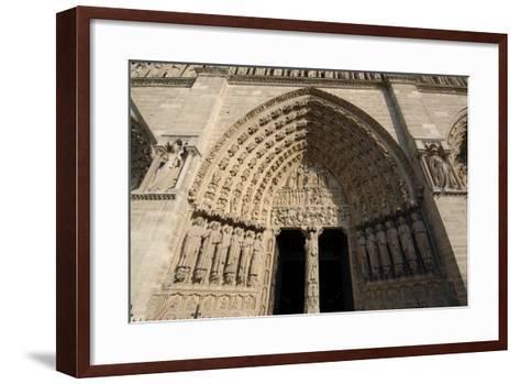 Central Doorway--Framed Art Print
