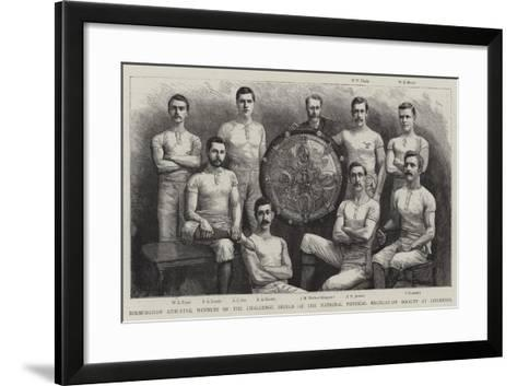 Birmingham Athletes--Framed Art Print