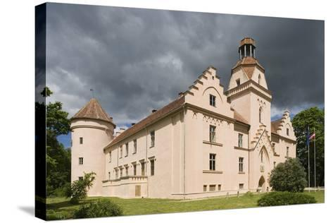 Bishop's Castle (Founded in 13th Century) in Edole--Stretched Canvas Print