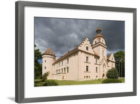 Bishop's Castle (Founded in 13th Century) in Edole--Framed Art Print